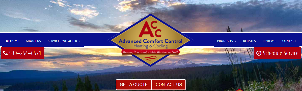 Advanced Comfort Control, Inc.